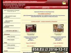 Miniaturka domeny nieruchomosci-mojdom.com.pl