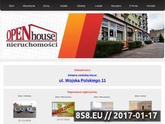 Miniaturka domeny nieruchomosci-openhouse.pl