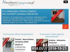 Miniaturka domeny nieruchomosci-wynajem.com.pl