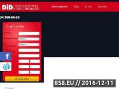 Miniaturka domeny www.nieruchomoscidid.czwa.pl