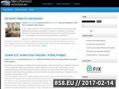 Miniaturka domeny www.nieruchomosciwroclaw.eu