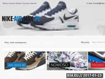 Zrzut strony Sportowe buty Nike Air Max