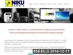 Miniaturka domeny www.nikuserwis.com.pl