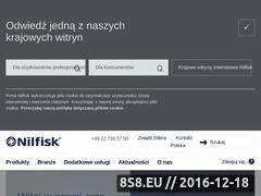 Miniaturka domeny www.nilfisk-alto.com.pl