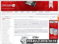 Miniaturka domeny www.niszczarki.org