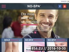 Miniaturka domeny www.no-spa.pl
