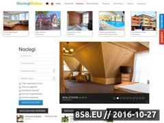 Miniaturka domeny www.noclegi-online.pl
