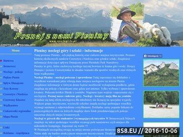 Zrzut strony Kwatery - góry Pieniny