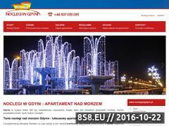 Miniaturka domeny www.noclegiwgdyni.pl