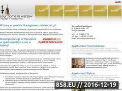 Miniaturka domeny www.noclegiwwarszawie.com.pl