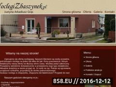 Miniaturka domeny noclegizbaszynek.pl