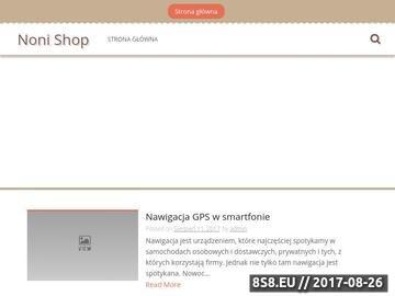 Zrzut strony Noni.Shop.Pl - Sok Noni