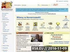 Miniaturka domeny www.nonsensopedia.wikia.com
