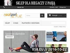Miniaturka domeny www.norafsport.pl