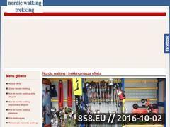 Miniaturka nordic.biz.pl (Nordic walking, trekking i narty biegowe - przyjazny sklep)