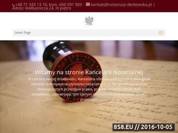 Zrzut strony Notariusz we Wrocławiu