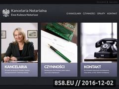 Miniaturka domeny www.notariusz-ochota.pl