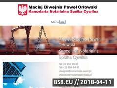 Miniaturka domeny notariusz-warszawawola.pl