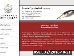 Miniaturka domeny notariusz-wroclaw.eu
