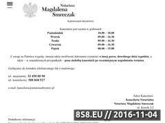 Miniaturka domeny www.notariuszbrynow.pl