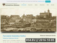 Miniaturka domeny notariuszgorlice.pl