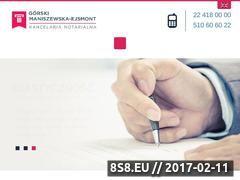 Miniaturka Usługi notarialne (notariusznawoli.pl)