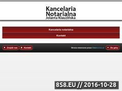Miniaturka domeny notariusznysa.pl