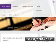 Miniaturka domeny notariuszpuczylowski.pl