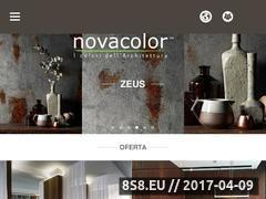Miniaturka domeny novacolor.pl