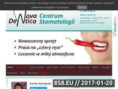 Miniaturka domeny novadentica.com