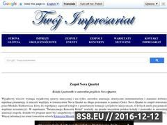 Miniaturka domeny novaquartet.twoj-impresariat.pl