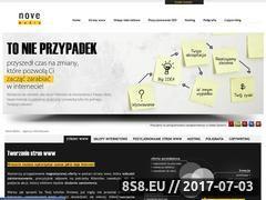Miniaturka domeny www.nove-media.pl