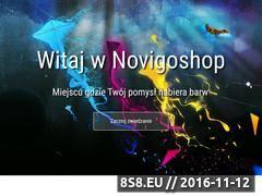 Miniaturka domeny www.novigoshop.pl