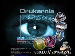 Miniaturka domeny nowatordruk.pl