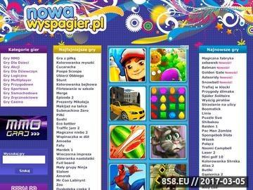 Zrzut strony Nowa Wyspa Gier - Portal Darmowych gier on-line.