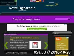 Miniaturka domeny nowe-ogloszenia.pl