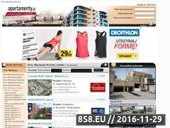 Miniaturka domeny www.nowemieszkaniawroclaw.apartamenty.pl