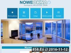 Miniaturka domeny www.noweokna.pl