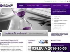 Miniaturka domeny www.nowespolki.pl