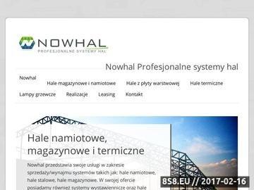 Zrzut strony Profesjonalne systemy hal magazynowych - projekt i budowa
