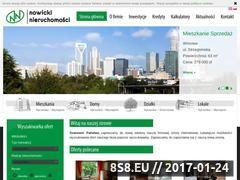 Miniaturka domeny nowicki-nieruchomosci.pl