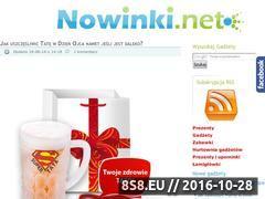 Miniaturka domeny www.nowinki.net