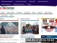 Miniaturka www.nowiny24.info (Bezpłatna gazeta powiatu pułtuskiego oraz wydarzenia)