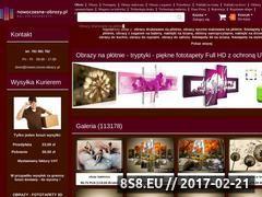 Miniaturka nowoczesne-obrazy.pl (Obrazy drukowane na płótnie - fototapety)