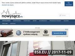 Miniaturka www.nowy-sacz.info (Wiadomości Nowy Sącz)