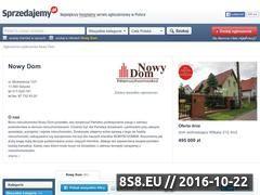 Miniaturka domeny nowydom.sprzedajemy.pl
