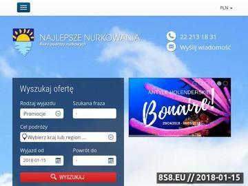 Zrzut strony Nurkowanie