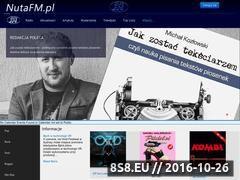 Miniaturka nutafm.pl (Najświeższe informacje muzyczne i wydarzenia)