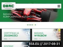 Miniaturka obac.com.pl (Certyfikacja)