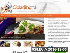 Miniaturka domeny obiading.pl